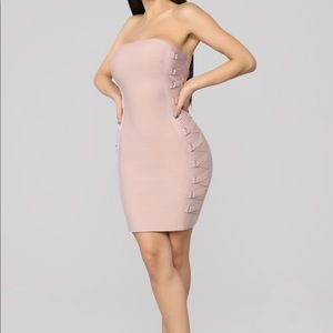 Wrapped up bandage dress